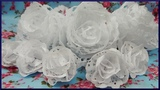 DIY | Tortenspitzen Papierblumen | Hochzeits Party Dekoration | Paper doily craft | Flower Wedding