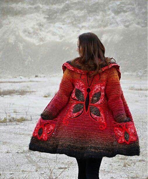 漂亮的针织提花秋冬装 - maomao - 我随心动