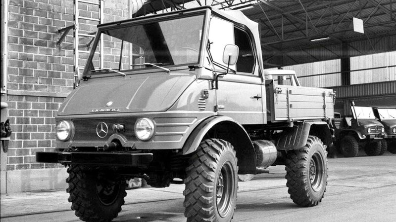 Mercedes Benz Unimog U40 Bm 421 122 1966 68