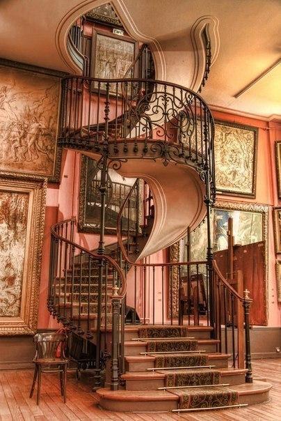 Лестница, как в сказке (1 фото) - картинка
