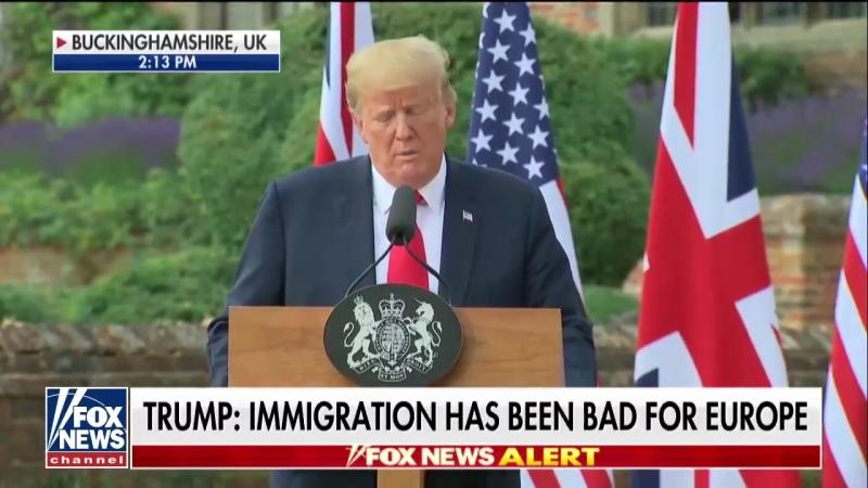 Ehr anzeigen [Einwanderung ist [die Kultur zu verändern, ich denke, das ist eine sehr negative Sache für Europa. Ich denke, es