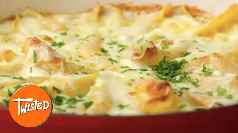 How To Make Camembert Pasta Shells | Cheesy Pasta Bake | Twisted