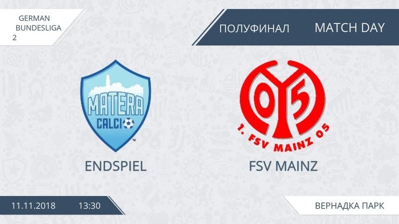 AFL18. Germany. Bundesliga 2. Semifinal. Endspiel FSV - Mainz