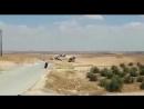 Турки на дорогах Манбиджа