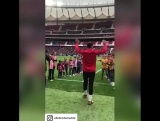 Диего Коста вышел на поле стадиона «Атлетико» и болельщики пришли в восторг