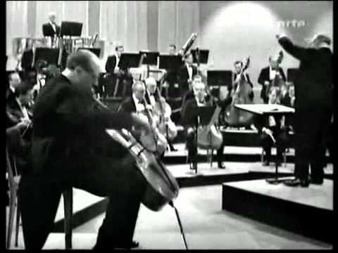 M.Rostropovich - Shostakovich Concerto No.1 - 1st mov
