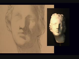 ArtAcademy - Beginning to Draw DVD - 3. The Cast - Intoduction to Portrait Drawing_5