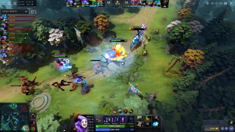 Earthshaker GOD is Back - GH Best ES Player Amazing Comeback - Dota 2 EPIC Gamep