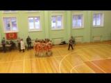 Предматчевый ритуал от Валерии Нагорновой и её команды.