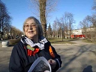 Литвинова Ольга - флешмоб в защиту ДК Газа