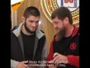 Ramsan Kadyrow ehrt Khabib Nurmagomedov
