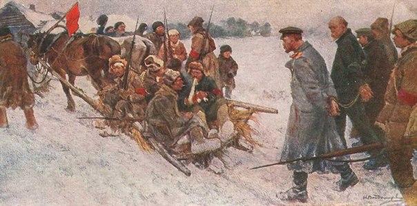 Революция и гражданская война глазами художника YOrPYz_idaI