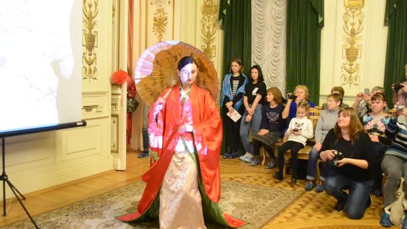 Японский стилизованный танец Логинова Юлия Авт Фархат