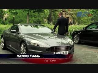 Актриса, модель и художник Диана-Августа Штауэр согласилась показать свой легендарный Aston Martin V12 S