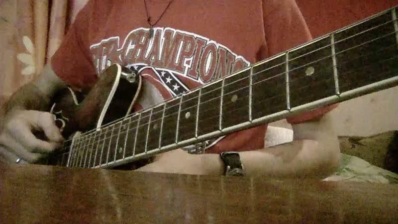 Тест полуакустической гитары Jolana Special