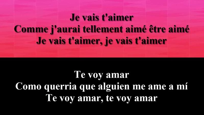 Louane - Je Vais T'aimer (Te voy amar) CON LETRA Español-french