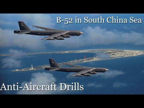 Chinese Navy Runs Anti-Aircraft Drills in South China Sea After B-52 Flyby