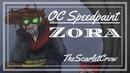OC Speedpaint Creepypasta Slenderverse Zora Life Forces