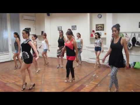 Paula Franciotti, Técnica Mujer en Tango (cadencia, Musicalidad y Adornos) I
