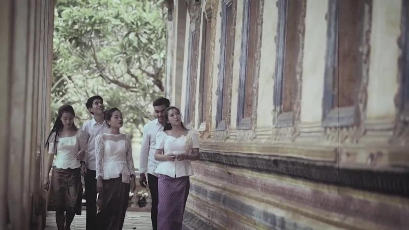 Что представляют собой кхмерские люди в праздновании нового года