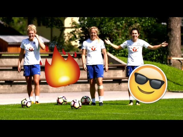 The Impossible Goal Challenge 🔥 Outrageous Goals By Karen Carney, Gemma Davison Millie Bright