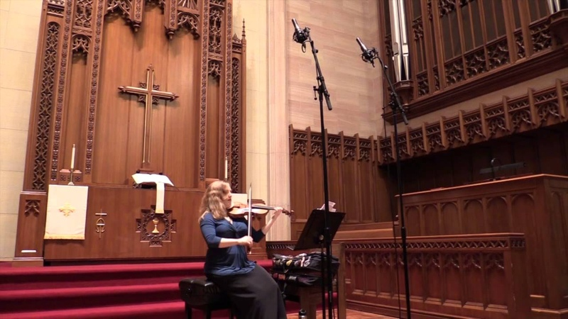 Rachel Barton Pine Violin Recorded With Royer Labs SF-2 Ribbon Microphones