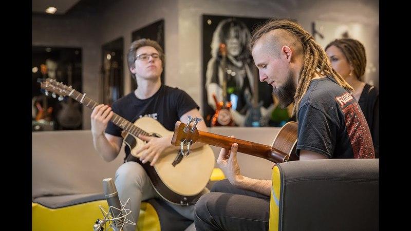 Alexandr Misko Dmitry Lisenko Illusion of Change percussive fingerstyle duo