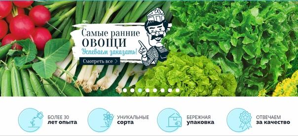 Каталог на семян на весну почтой от НПО Сады России.