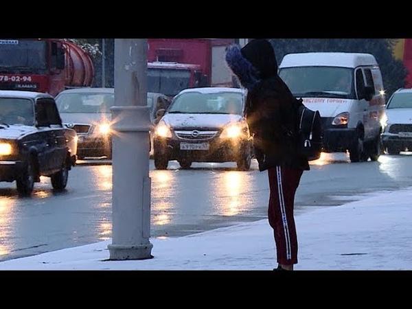 Сегодня утром количество аварий в Краснодаре выросло почти вдвое