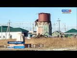 Водонапорная башня-памятник рухнула из-за урагана в Новосибирской области