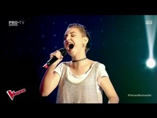 Elena Hasna - Vocea Romaniei 28 septembrie 2018