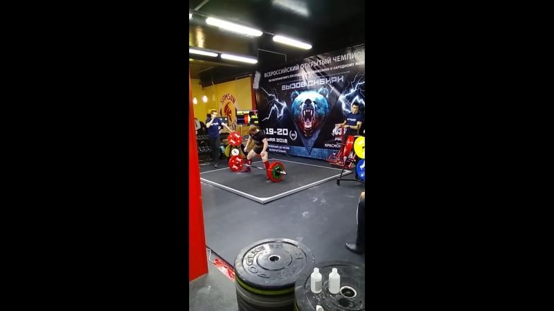 Становая тяга 3 подход 200 кг