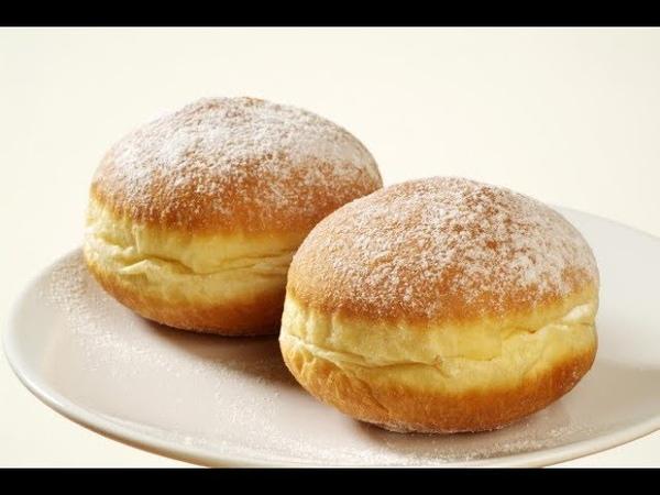 How to make donuts/ Ինչպես պատրաստել կրեմով փքաբլիթ (пончики)!!