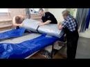 Аквилон Aquilon - надувная моторная лодка ПВХ с дном низкого давления НДНД 098