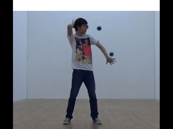 Body Throw 3 Ball Juggling Progress