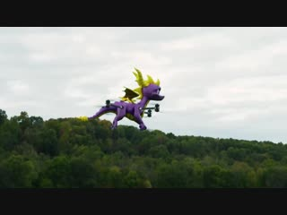 Spyro to snoop.