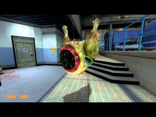 Half Life: Black Mesa - Barnacle