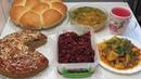 6 Постных блюд на пару дней Завтрак Обед и Ужин Recipes of lenten dishes