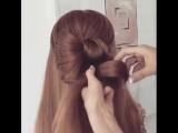 Урок плетения красивой прически на длинные волосы