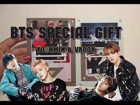 Special BTS gift/ Scrapbook BTS/ Yoonmin and Vkook