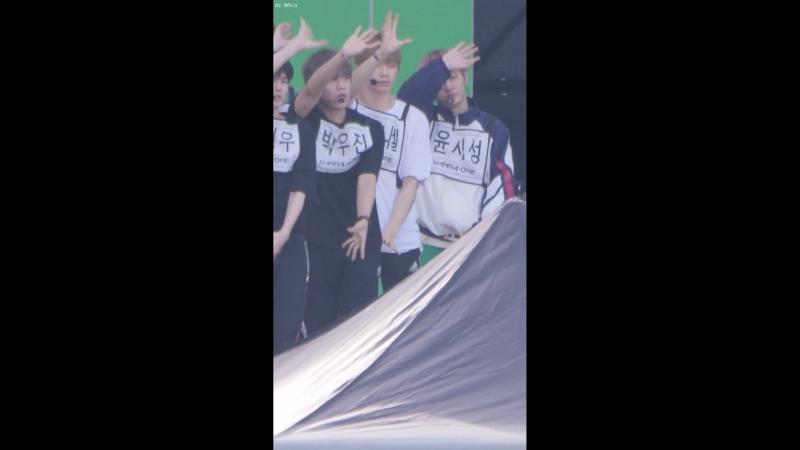 230718 Ulsan Summer Festival (Rehersal) - Wanna One Energetic