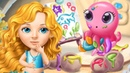 Fun Girl Care Games For Kids - Sweet Baby Girl Mermaid Life – Kids Learn Dress Up, Clean Up