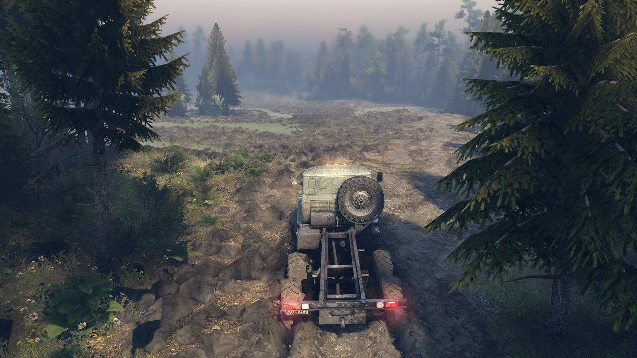 """Карта """"Blackwater Mojave green"""" для последней версии игры. для Spintires - Скриншот 1"""