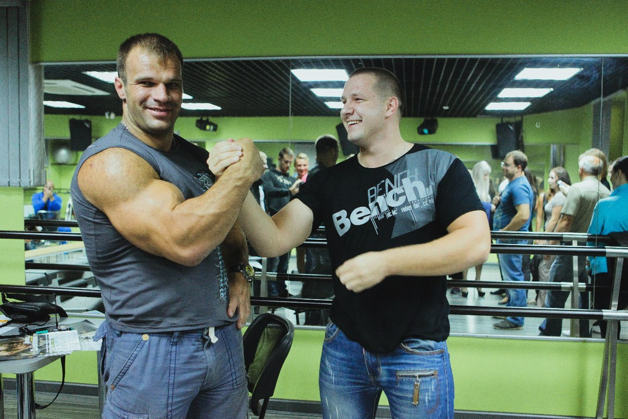 Denis Cyplenkov - Armwrestling Master Class │September 2013