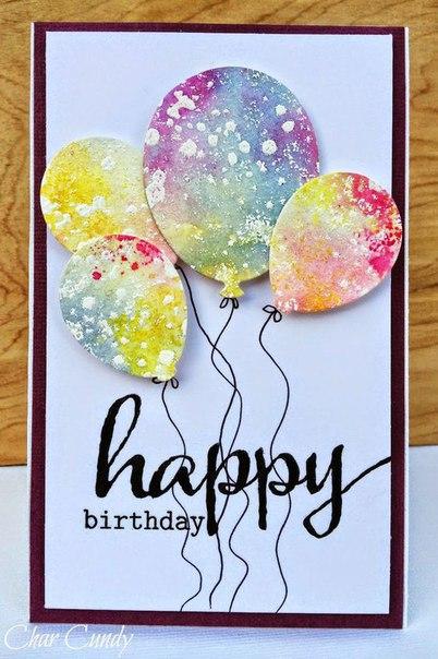 Как написать открытку на день рождения своими руками