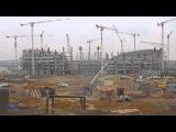 Строительство олимпийского стадиона в Баку (состояние на 22.02.2014)