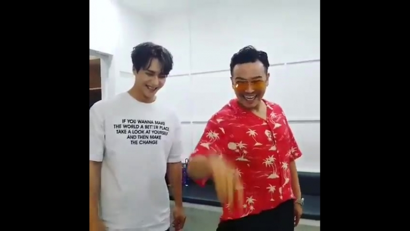 [VIDEO] 180801 MC Ding Dong Instagram update with 하이라이트 손동운 동운 Dongwoon