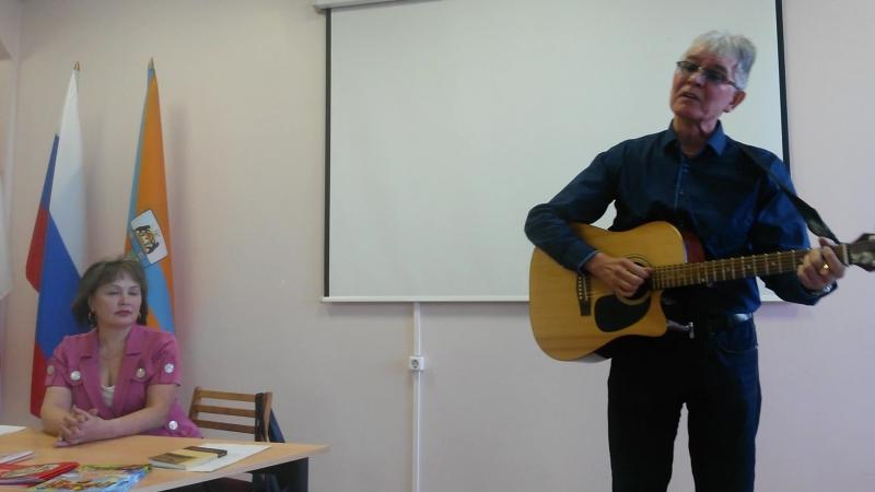 Ильдар Гафаров поёт для Татьяны Новиковой на её творческом вечере