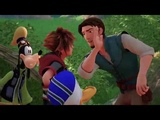 KINGDOM HEARTS III LUCCA 2018 Tangled Trailer (Closed Captions)