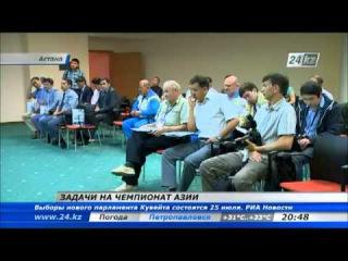 Казахстанские штангисты планируют завоевать три золотые медали на чемпионате Азии